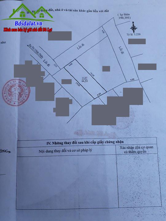 Bán Căn Nhà Đường Tô Vĩnh Diện Diện Tích 64m2