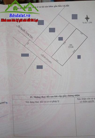 Bán Lô Đất Đường Nguyễn Trung Trực Diện Tích 125m2