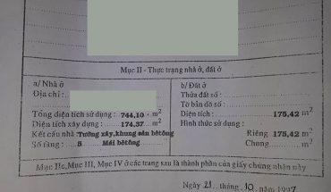 Bán Khách Sạn Mặt Tiền Đường Bùi Thị Xuân Diện Tích 175m2