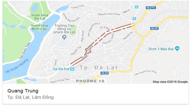 Bán Căn Nhà Mặt Tiền Đường Quang Trung Diện Tích 200m2