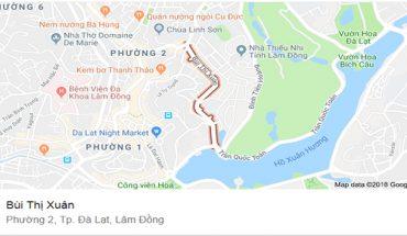 Bán Khách Sạn Mặt Tiền Đường Bùi Thị Xuân Diện Tích 700m2