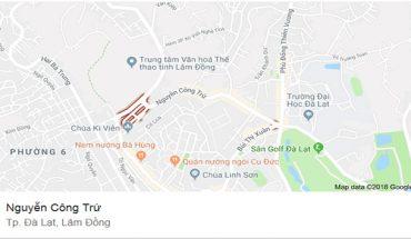 Bán Lô Đất 2 Mặt Tiền Hẻm Nguyễn Công Trứ Diện Tích 127m2